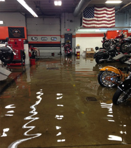Water Damage Company Southfield MI - Basement Flood Cleanup, Repair, Restoration - DRYmedic - waterdamage2